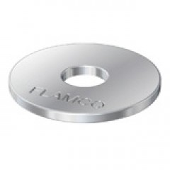 Flamco sluitring voor montagerail S 6s 25mm prijs=per stuk DS=1000 verzinkt 70811