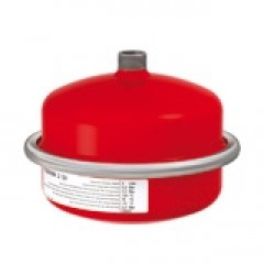 Flamco Flexcon membraandrukexpansievat 25 L 0,5 bar rood 26255