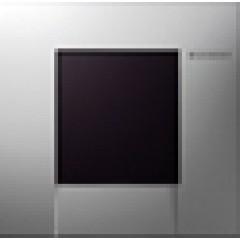Geberit HyTronic urinoir stuursysteem infrarood 230V 13x13cm met bedieningsplaat bolero alpien wit 116022111