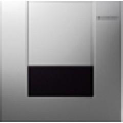 Geberit HyTronic urinoir stuursysteem infrarood 230V 13x13cm met bedieningsplaat tango alpien wit 116024111