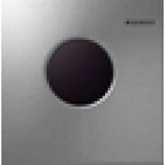 Geberit HyTronic urinoir stuursysteem infrarood batterij 13x13cm met bedieningsplaat mambo RVS geborsteld 116033FW1