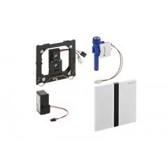 Geberit HyTronic urinoir stuursysteem infrarood 230V 13x13cm met bedieningsplaat sigma 50 chroom geborsteld 116026GH1