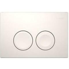 Geberit Delta 21 bedieningsplaat dual flush t.b.voor reservoir UP100 chroom 115125211