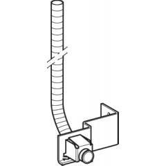 Geberit AquaClean mantelbuis voor wateraansluitset douche/WC 242011001