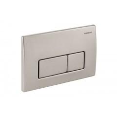 Geberit Kappa 50 bedieningsplaat front-planchetbediening t.b.voor reservoir UP 200 RVS 115258001