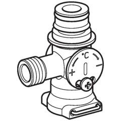 Geberit mengventiel waterkracht generator 242572221