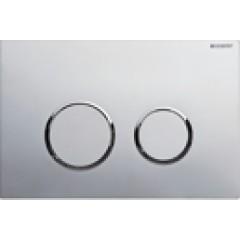 Geberit Sigma 20 bedieningsplaat 2-knops t.b.voor UP300/320/700 mat/glans/mat 115778KN1