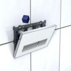 Geberit toiletblokhouder voor inbouwreservoir UP300/320 t.b.voor bedieningsplaat Sigma 01, 10, 20 en 50 115612001