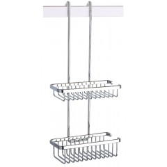 Geesa Basket Double Douche korf dubbel chroom 253