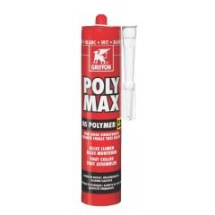 Griffon poly max fix&seal express koker à 435 gr grijs 6150456