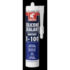 Griffon Sealant s100 siliconenkit 300ml pergamon 1249305