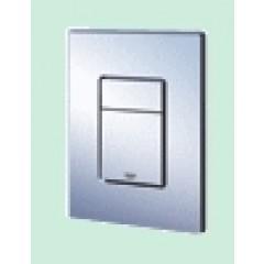 Grohe Skate cosmopolitan WC bedieningsplaat dual flush verticaal/horizontaal RVS 38732SD0