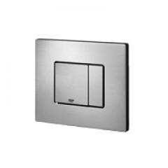 Grohe Skate cosmopolitan WC bedieningsplaat dual flush horizontaal RVS 38776SD0