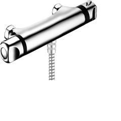 Hansa Hansamicra douchekraan thermostatisch zonder omstel zonder koppelingen HOH=15cm chroom 58150001