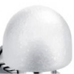 Hansgrohe Atoll helder glasbol voor wandlamp 40082000