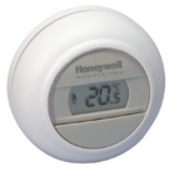 Honeywell Round kamerthermostaat 24V On/off wit T87G1006