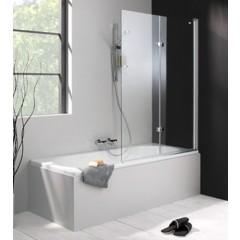 Hüppe 501 Design Pure bad draai-vouwdeur 100x150cm rechts 2-delig zilvermat/helder 175240087321