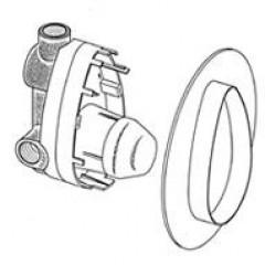Ideal Standard basisgarnituur bad/douchemengkraan universeel A2363NU