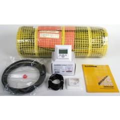 Magnum Millimat elektrische vloerverwarming 1500 W. 12.0 m2 met klokthermostaat 202405