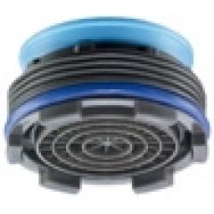 Neoperl Cache Cascade perlator 24mm buiten 2 stuks met sleutel kunststof 1501748