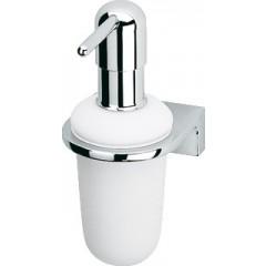 SAM 3000 en Hotel zeepdispenser mat wit/chroom 33802010