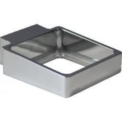 SAM Cuna glas/zeephouder chroom 771200010