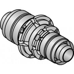 Uponor perskoppeling met koperovergang 14x15mm 1014511
