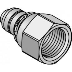 Uponor pers overgangskoppeling binnendraad 20mmx1