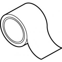 Uponor plakband 50mm rol=66 meter, prijs= per rol 1000012