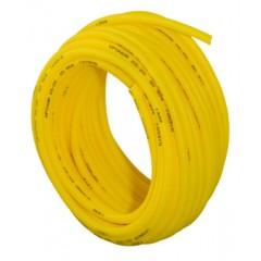 Uponor gas mantelbuis 34/29mm rol=50 meter prijs per meter geel 1001400