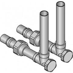 Uponor SL-knie afsluitbaar 15mm 1014060