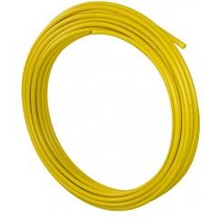 Uponor MLCP gas-plus 25x2.5mm rol=50 meter prijs per meter geel 1023250