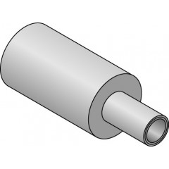 Uponor ISO-uponor isolatie 9mm 25x2.5mm rol=50 meter prijs per meter blauw 1013627