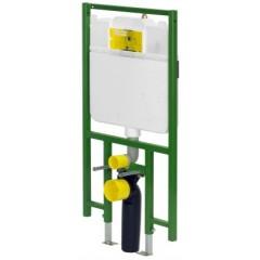 Viega Eco Plus WC-element 1F-UP met inbouwreservoir 3-6-9 liter spoeling 695569