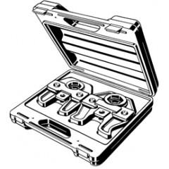 Viega viega persbek voor buis 42 en 54mm in koffer 693749
