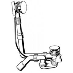 Viega Multiplex multiplex visign-M5 badafvoer en overloopcombinatie 40/50x540mm standaard 688530