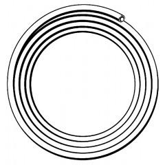 Viega Pexfit fosta G-buis voor gasinstallatie 20x2.3mm rol=50m, prijs=per meter geel 488819