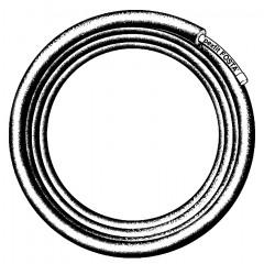 Viega Pexfit fosta-buis voor drinkwater en CV met isol. en folie 16x2.0mm rol=50m, prijs=per meter blauw 449155
