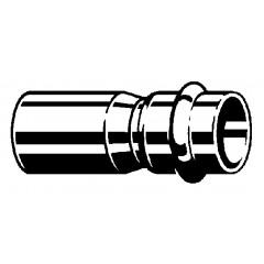 Viega Profipress verloopsok SC 28x22mm spie x pers koper 296506