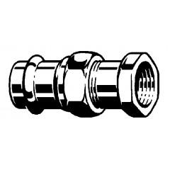 Viega Sanpress 3-delige koppeling SC binnendraad 15x3/4