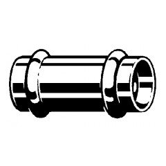 Viega Profipress-G sok SC 28mm koper 346515
