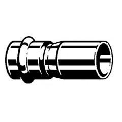 Viega Profipress-G verloopsok SC 54x42mm koper 346676