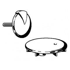 Viega Rotaplex rotaplex visign-R1 afbouwdeel chroom 372026