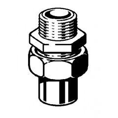 Viega Soldeerfitting 3 delige koppeling 28x1