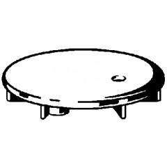 Viega Temposet afbouwdeel voor douchebakafvoer 90mm (oud model 445386) chroom 442330