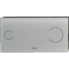 Viega Visign for More 103S bedieningsplaat glas helder/grijs batt.6,5V