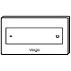 Viega Visign for Style 12 bedieningsplaat 83321 RVS geborsteld
