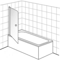 Villeroy & Boch Frame To Frame badwand 1 delig 80x150cm Vilboclear chroom/ helder DW0080LOG170V61