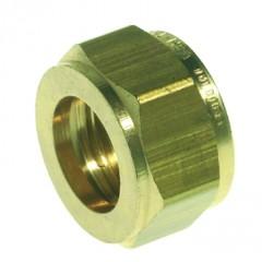 Vsh Knelfitting losse wartel moer 15mm vernikkeld 874236