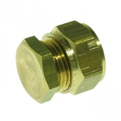 Vsh Knelfitting eindkoppeling 22mm knel sd1206 a 20 stuks messing 889295